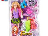 厂家专业生产 时尚芭比娃娃套装 新款儿童礼物玩具 外贸批发399