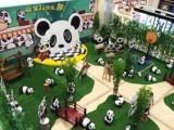 儿童主题熊猫乐园粉红猪猪乐园租赁地板钢琴律动心跳等
