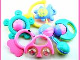 宝宝玩具0-1岁 新生儿手摇铃6件组合套装 0-6个月婴幼儿早教