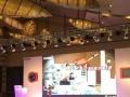 广告桁架喷绘、舞台背景、桌椅、led屏、灯光音响等