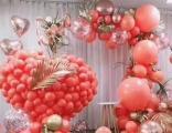 北京求婚气球,七夕情人节气球装饰,批发进口氦气球