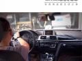 汕头宝马320汽车音响改装【悦心出品】