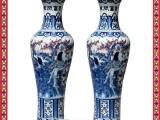 商务礼品陶瓷大花瓶 雕龙大花瓶 名家瓷器大花瓶