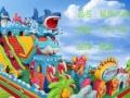 郑州腾龙充气蹦床 充气滑梯 充气城堡 海洋球池 厂家直销