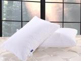 明超国际 酒店宾馆羽绒枕头纯棉 超柔羽丝