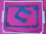 现模现货白色PVC塑胶平垫 定做耐油耐高压石棉橡胶垫片
