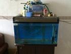 出售一米鱼缸一套,加自制过滤箱。