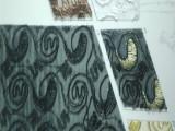 精工绣花系列 花布 鞋子的面料 涤纶面料 蛇形电绣亮片布