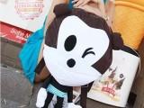 韩版新款米奇女士包中学生双肩背包休闲卡通可爱女包个性潮女包