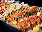钱小奴海鲜自助餐厅加盟+海鲜自助还有烤肉