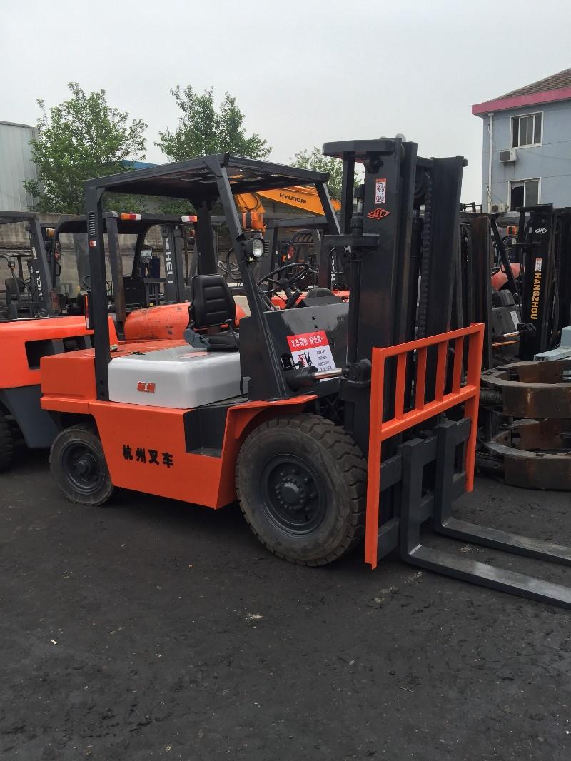 低价销售9成新杭州2吨3吨5吨8吨二手叉车 工作时间短质量好