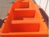 安徽特价双层塑料船2米到6米塑料渔船养殖船观光船