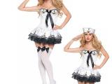 欧美游戏制服海军制服诱惑水手裙万圣节派对夜场DS演出服EU834