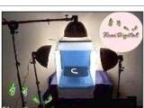 摄影棚 50*50CM柔光摄影棚3灯超级完美套装