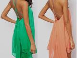 2014夏季女装欧美性感吊带无袖纯色雪纺连衣裙 外贸女连衣裙vn