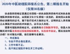 北京2020年中医助理医师代报名-中医助理医师报名条件