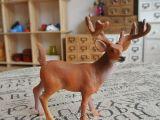 动物模型 长角鹿桌面摆件 生日礼物 玩具树脂工艺品生产厂家直销
