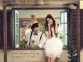 这个七夕海景拍,在贵港CC韩国风婚纱摄影基地拍