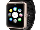GT08智能手表手机可插卡通讯支持QQ微信 智能蓝牙手表拍照手机