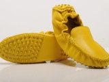 真皮广州生产豆豆鞋妈妈厂家休闲女单鞋驾车鞋TODS欧式秋季女鞋