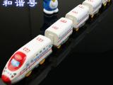 儿童玩具 和谐号动车组合 5节列车车厢 电动小火车 电动玩具