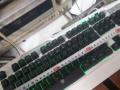 电脑 台式机 键盘 ps/2 背光键盘 草原狼专业游戏键盘