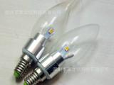 E14尖泡3W360腊烛灯泡 小螺口尖头