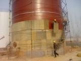 固安蒸汽管道保温施工队 玻璃棉设备保温工程