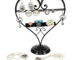 铁艺首饰架 爱心造型饰品收纳架 项链挂架耳钉耳环架子批发