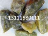德天供应染色五彩石透水胶粘石水磨石白黑红石子