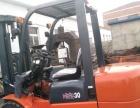 转让林德15吨二手叉车万向电动乘驾式叉车仓库专用叉车