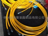 液压钢丝编织树脂高压软管总成 液压机械高压树脂油管厂家