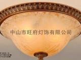 【旺府灯饰】欧式仿古吸顶灯CF103-3