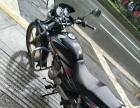 本田超级锐剑男式摩托车手续齐全,年检保险到2018