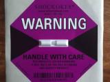 防震标签原装正品SHOCKOKEE 防震显示标签贴冲击指示器