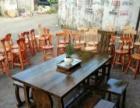 厂家直销实木办公桌电脑桌培训桌学生桌餐桌火锅桌椅