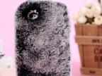 新款濑兔毛时尚iPhone三星手机壳 苹果手机配件批发 手机保护套