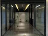 室内百叶玻璃隔断安装丰台区办公室隔断装修
