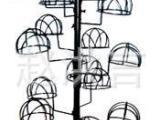 义乌货架厂家直销批发供应铁制喷漆中岛架帽子服装道具展示架帽架