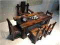 厂家特价老船木家具 茶桌茶几中山船木家具工厂定做
