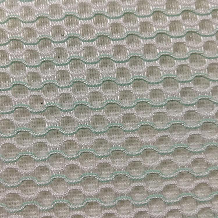东莞厂家批发双色三明治网眼布汽车坐垫材料