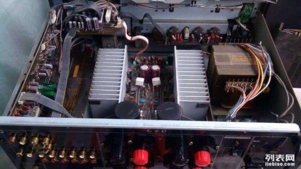 雅马哈功放ax550电路图