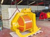 南京日立20噸挖掘機前端工作設備篩分斗