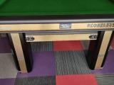 山西台球桌展厅 款式多 当天送货安装
