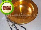 LED金色筒灯套件 2.5寸筒灯外壳 一体化车铝筒灯配件