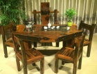宁波市老船木茶桌椅子仿古茶台实木沙发茶几餐桌办公桌家具博古架