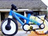 自行车气模 气模自行车 充气自行车 广告