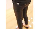 2014年新款 独家定制童装 反光面料透气 铅笔裤 小脚裤 一件