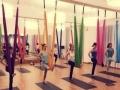 空中瑜伽让我们觉得健康、强健及柔软