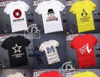 阿拉尔3元男装T桖哪里有厂家低价清仓时尚男装T恤批发夜市好卖